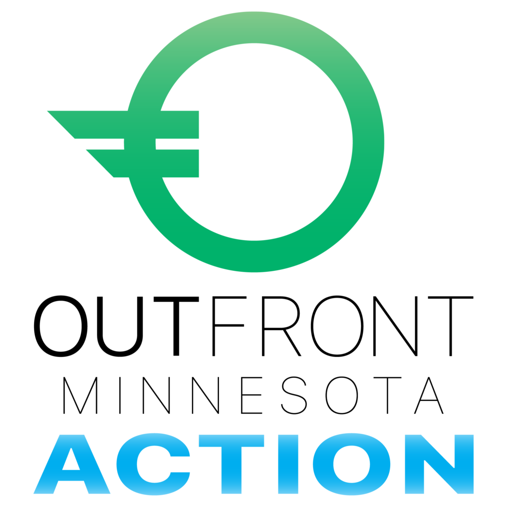 Outfront Minnesota Action Logo